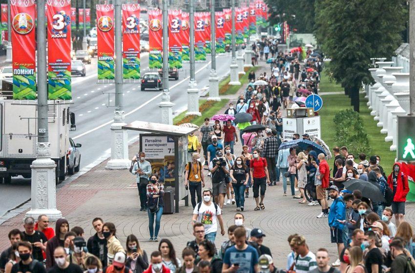 Цепь солидарности в Беларуси запущена. Сегодня – Витебск