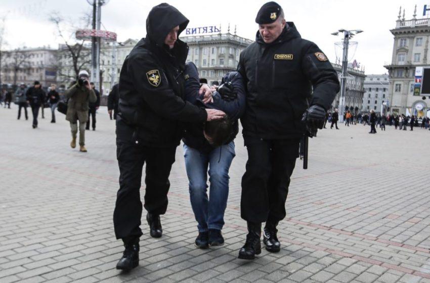 В Белоруссии силовиков уже больше, чем людей. Итоги акции в Гродно