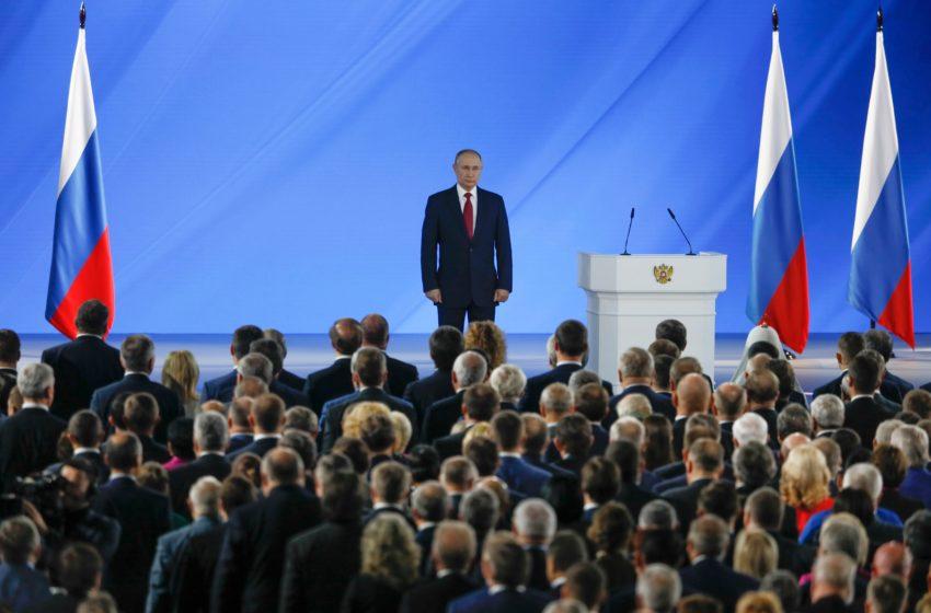 Путин объявил о модернизации законодательной базы России