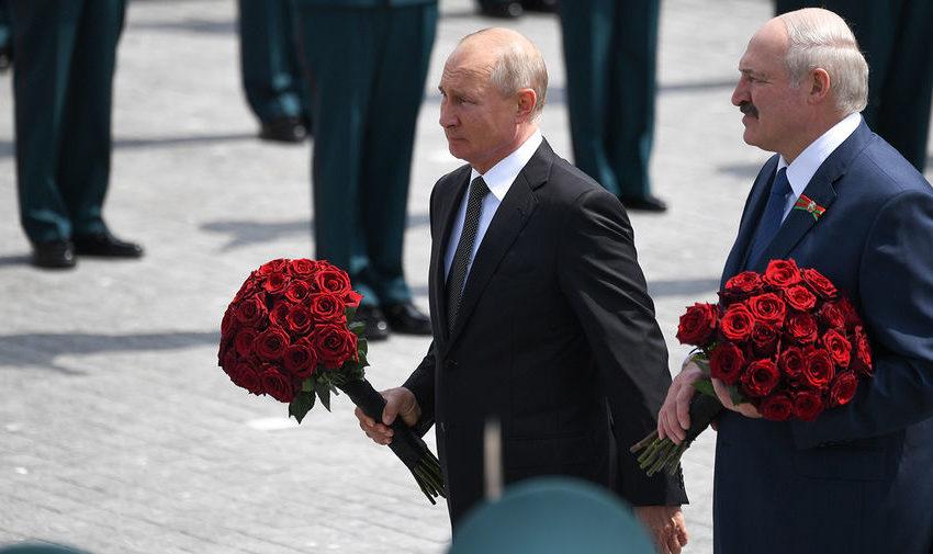 Встреча под Ржевом: Лукашенко опять во всем обвинил Путина