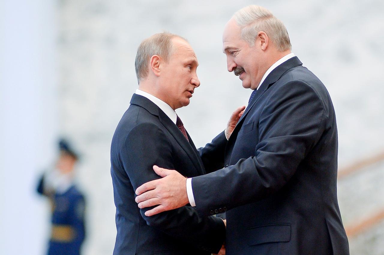 Лукашенко с Путиным