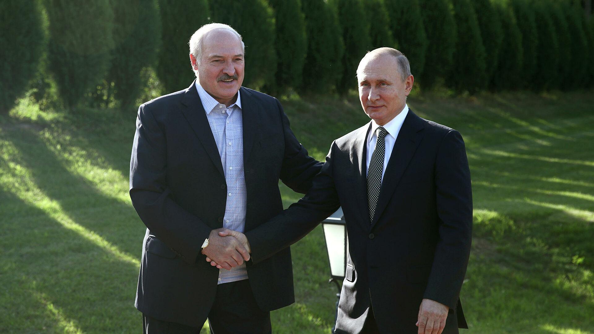 Путин встречался с Лукашенко. Реакция белорусской оппозиции