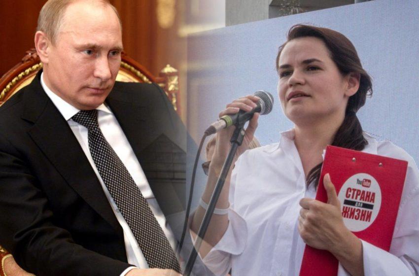 Почему РФ не хочет с нами сотрудничать? Возмущение Тихановской политикой Путина
