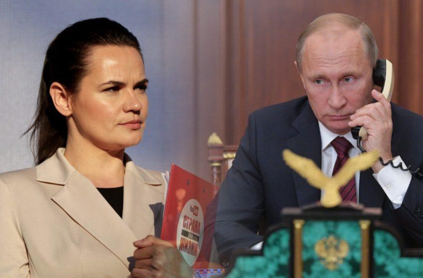 Тихановская угрожает, Путин насторожился