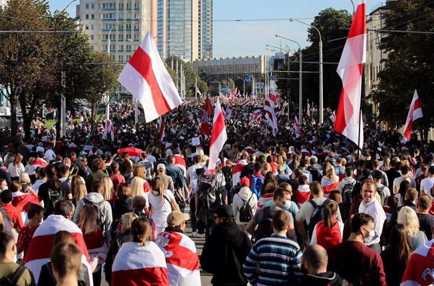 Марш партизан в Беларуси. Шутки кончились