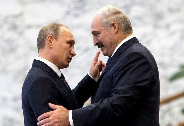 С одним – дружу, на другого – не злюсь. Лукашенко о двух Владимирах президентах