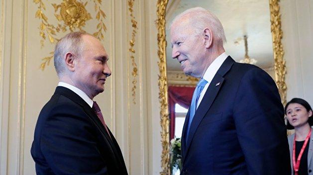 Как Байден и Путин Беларусь обсуждали