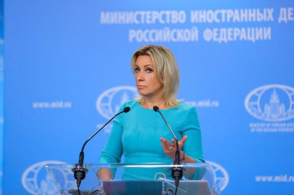 Четкий ответ Захаровой по Беларуси